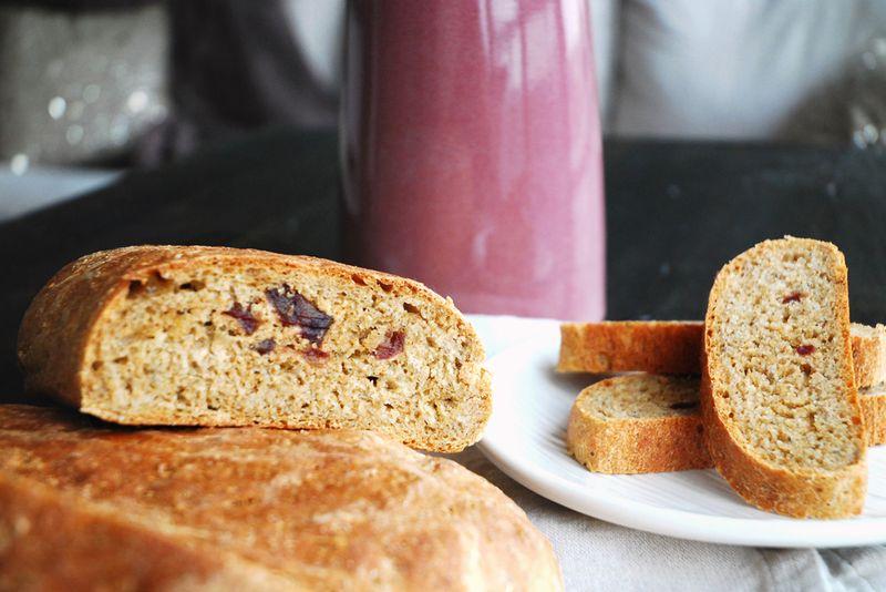 Molasses Date Bread